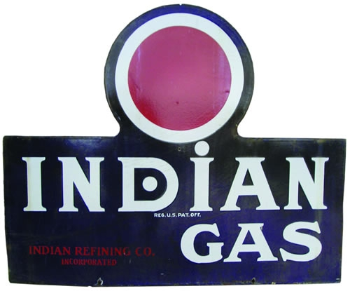 Indian Gas 2 sides