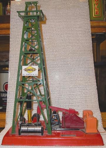 Lionel Train Oil Rig