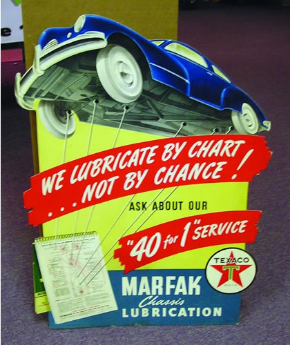 Marfax Lub CardBoard EaselBack