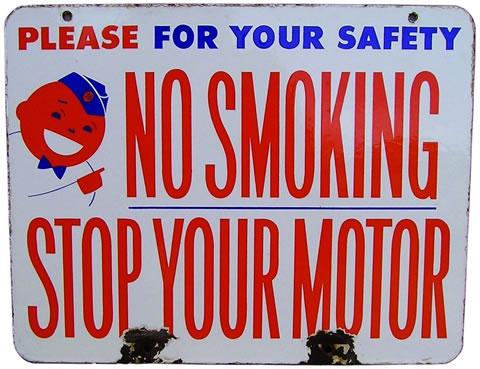 Union 76 No Smoking