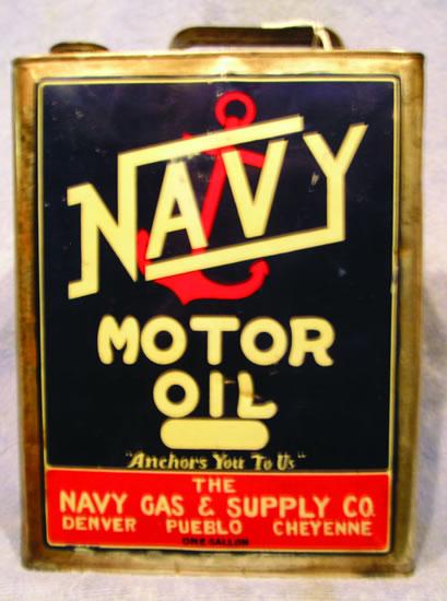 Navy oilcan