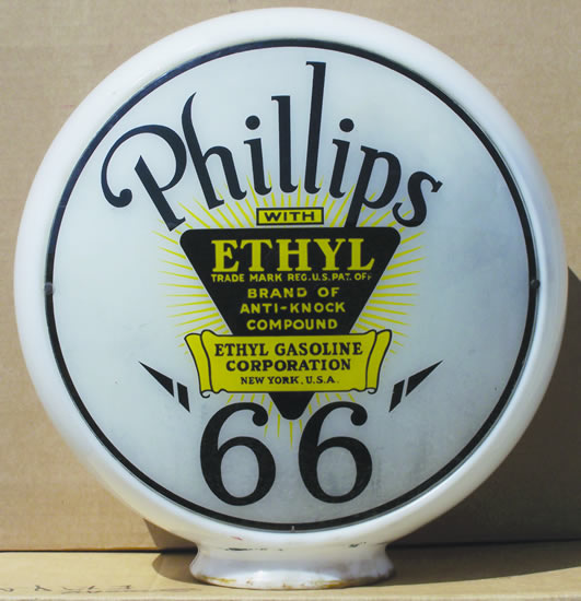 Phillips 66 Ethyl globe