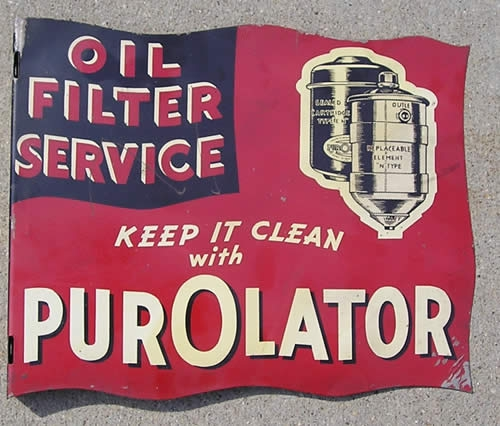PurOlator 11x13 tin flange