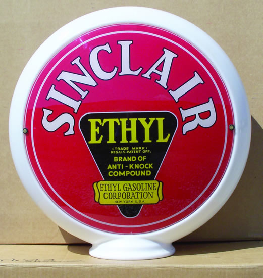 Sinclair Ethyl globe