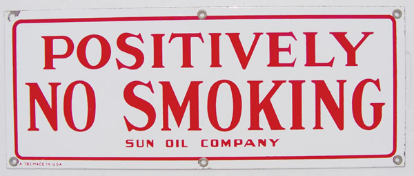 Sun No Smoking