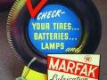 Marfax Tire CardBoard EaselBack