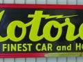 Motoral Tin Sign